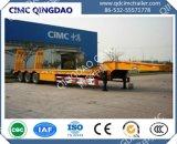 Eje 3 Low-Bed Cimc Lowbed Semi-Trailer Semi-Trailer chasis de camión de remolque semi