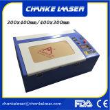 Carimbo de madeira papel plásticos 40W máquina a laser de CO2