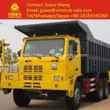 Китайская тележка сброса минирование 50ton Sinotruk HOWO 6X4 для шахты Tranportation