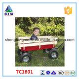 El carro de madera de la herramienta del carro de los niños embroma el carro