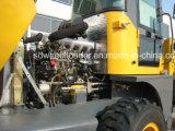 セリウムのチンタオポートの任意選択Cummins Engine Ytoエンジン2.0tonsの車輪のローダー