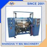 Ym10 corte longitudinal e máquina de enrolamento do rolo de papel higiénico /Film/tecido Non-Woven