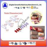 Empaquetadora del embalaje automático de la galleta (bandeja-libre)