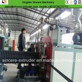 HDPE двойные стенки гофрированной трубы со спиральными производственные машины