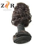 標準的なバージンの毛の織り方のペルーの人間の毛髪の束