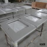 Os certificados CE bancadas de quartzo de mármore artificial para banheiro