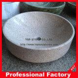 Bassin en pierre de marbre en polissage pour salle de bain et cuisine