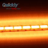 700W Gold emissor por infravermelhos Lâmpada Heateing infravermelhos