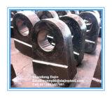 Piatto resistente all'uso del martello dei pezzi di ricambio del frantoio del mulino a martelli di effetto