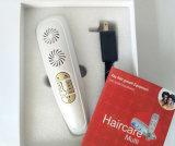 Micro de la terapia actual peine láser LED masaje del cuero cabelludo de RECRECIMIENTO DEL CABELLO pérdida del cabello Tratamiento activar el dispositivo
