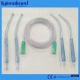 Tube d'aspiration de PVC Yankauer avec le traitement