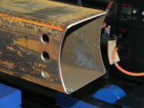 El tubo cuadrado y el Plasma de corte de tubo redondo de la línea de producción