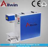 El escritorio de marcado láser de fibra de acero inoxidable/máquina de impresión láser color/Mini Marcador láser