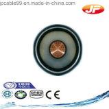 Une tension élevée sur le fil de base de cuivre simples XLPE Câble blindé