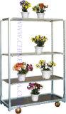 Flor de la compra, el estante de exhibición, soporte de exhibición