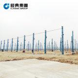 Panel Fireproofed largo tiempo de servicio de almacén de la estructura de bastidor de acero/Taller