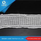 Шнурок ткани вышивки хлопка способа водорастворимый