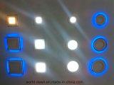 파란 가장자리 2 색깔 LED 실내 위원회 점화