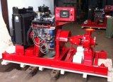 미끄럼에 의하여 거치되는 디젤 엔진 화재 싸움 수도 펌프