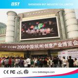 LED表示(ショッピングモール)を広告する高リゾリューションP8 SMD3535屋外のフルカラーの前部サービス