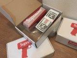 熱い販売の小型おもちゃのお金銃の偽造品の現金お金銃