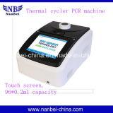 Máquina de PCR de termómetro térmico 48 * 0.2ml com interface USB