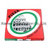 Scatola di cartone ondulata per le pizze, scatole da pasticceria, contenitori del biscotto (PB160612)
