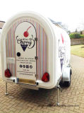 Nuevo modelo de Móvil de Alimentos Alimentos expendedoras de remolque remolque bicicleta carreta