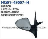 Высокое качество наружного зеркала заднего вида для Hyundai Accent Solaris 2011 непосредственно на заводе. #OEM:730/87620 87610-1R-1R730