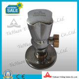 Латунный угловой вентиль с керамическим патроном (YD-E5025)