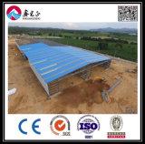 Construction en acier industrielle d'atelier de grande envergure