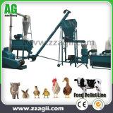 100-500kg 농장 사용 작은 동물성 가금은 판매를 위한 펠릿 플랜트를 공급한다