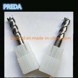 El carburo HRC55 del CNC pulió 2 herramientas del aluminio de las flautas