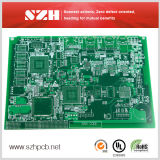 4-Layer Green Mascarilla de Inmersión Gold PCB