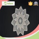 Correção de programa retangular regular do bordado da flor bonita nova do estilo quatro da forma