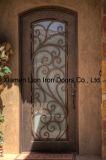 Portello principale d'acciaio del ferro di vetro Tempered del portello di obbligazione di alta qualità