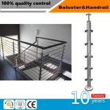 Pilier d'acier inoxydable pour l'escalier