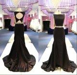 Sexy моды Satin валика клея Русалки вечерние платья Gowns Wgf148