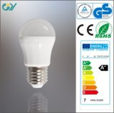 최신 Item E27 5W 6W 7W E27 Lighting Bulb