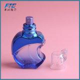 Bouteille de parfum en verre d'art de bouteille de parfum de jet d'Apple avec le pulvérisateur