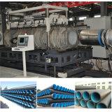 El plástico HDPE PP Tubo ondulado de doble pared haciendo que la máquina de extrusión