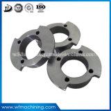 Soem-Aluminiumpräzision CNC-Fräser, der für Rohr-Flansche maschinell bearbeitet