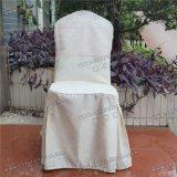 """Отель банкетный стол и стул крышку с кристально чистым розового цвета стримеры лента Блэк Сэш"""" Yc-091"""