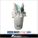 167kVA 11/0.4kv 기름 변압기 단일 위상 변압기