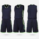 El entrenamiento Sportsuit del baloncesto de los hombres modifica la impresión para requisitos particulares Sportwear corriente de secado rápido