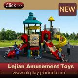 Glissière extérieure de matériel de cour de jeu d'enfants de plastique pour l'école (X1508-3)