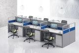 Estação de trabalho na Irlanda do compartimento de Call Center alto muro de mobiliário de escritório de partição