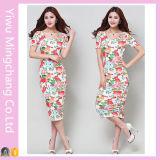 Платье повязки MIDI платья повязки 2016 оптовых продаж удобное флористическое