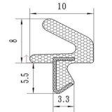 Het waterdichte Houten van de Deur RubberPu Verzegelen van het Frame