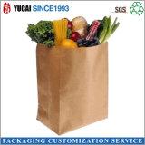 2017 bolsa de verduras Ecológico Papel Kraft Food bolsa de papel